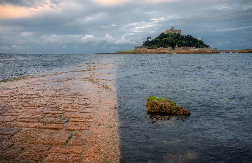 les grandes marées du Mont saint Michel